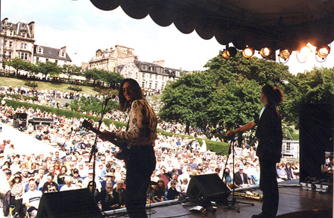 1996 Edinburgh Festival, Princess Park, Scotland
